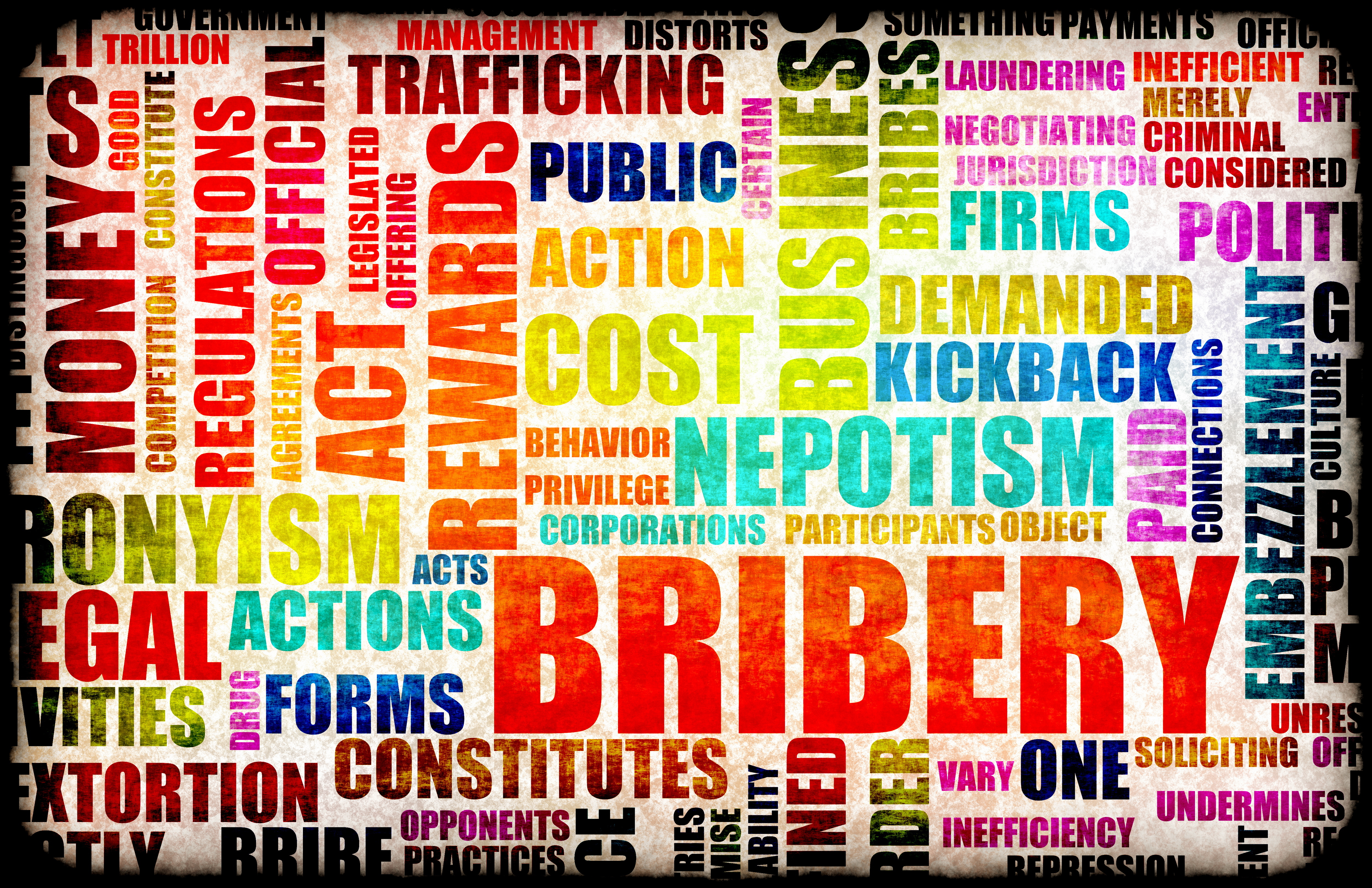 bribery corruption No business can afford to be without proper bribery and anti-corruption policies  and processes we have significant experience of drafting practical and effective .
